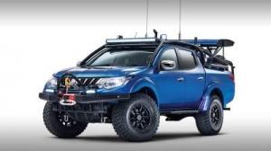 Mitsubishi рассекретил дизайн экстремального пикапа