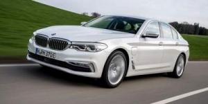 BMW выпустил гибридный седан 5-Series