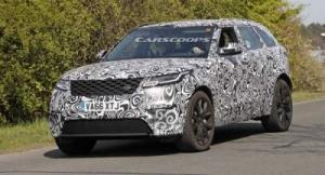 Новый кроссовер Range Rover Velar «засекли» на тестах