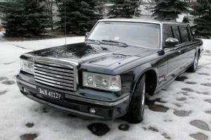 Опубликованы «живые» фото автомобиля для кортежа Путина