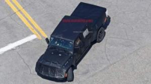 Шпионские фото Jeep Wrangler попали в Сеть